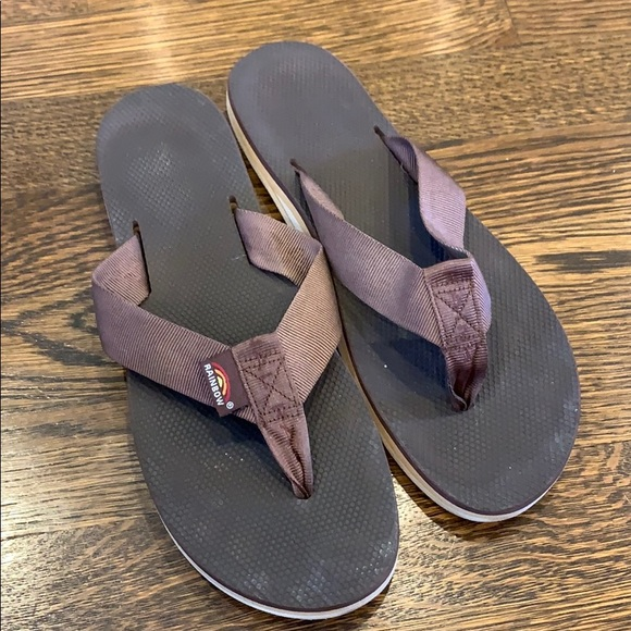 Rainbow Shoes - Rainbow Flip Flops